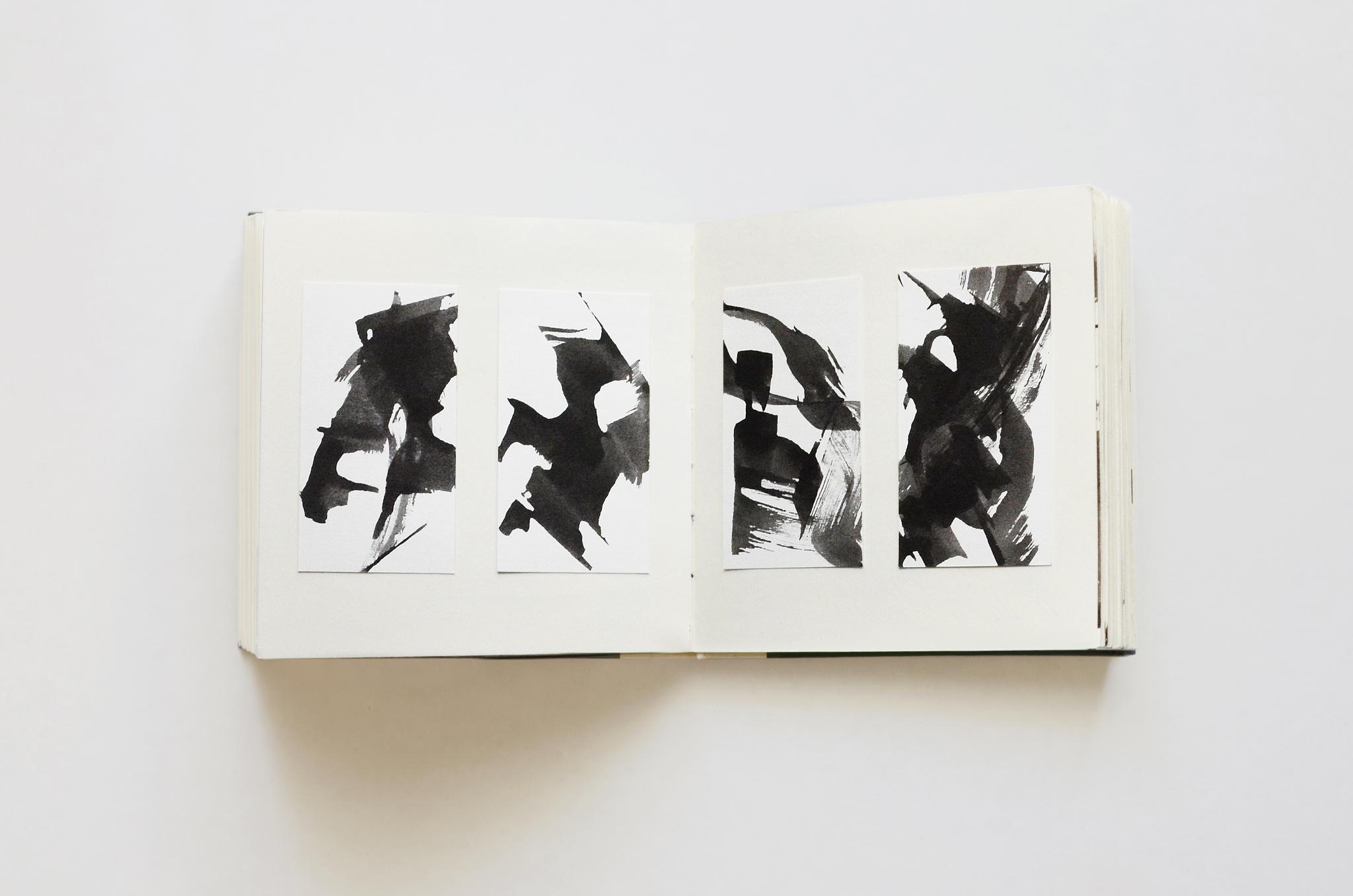 #6, Freie Kalligraphie, Reihe | 20160222 – Hannah Rauß / noe.io